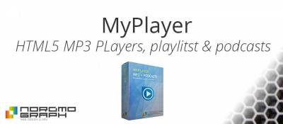 MyPlayer: HTML5 MP3 players, playlists and podcasts
