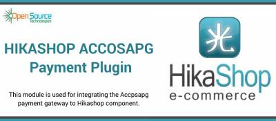 Accosapg Payment Plugin for Hikashop