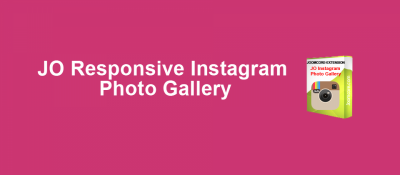 JO Responsive Instagram Photo Gallery