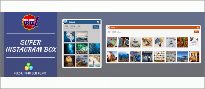 Responsive Super Instagram Box