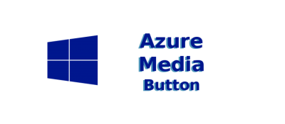 Azure Media Button