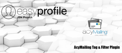Easy Profile - Acymailing Tag & Filter