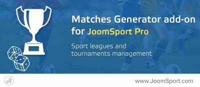 Match Generator add-on for JoomSport