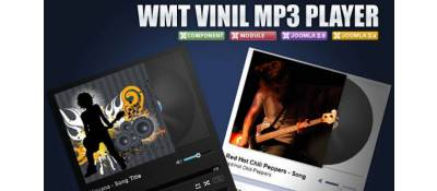 WMT Vinil Mp3 Player