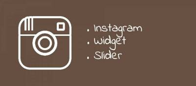 Instagram Widget Slider