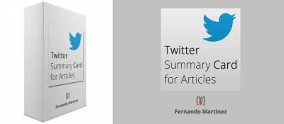 Twitter Summary Card for Articles