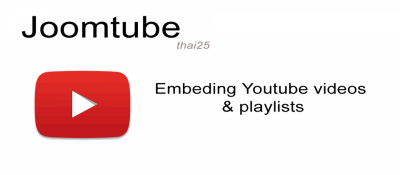 Joomtube Embed Youtube Video