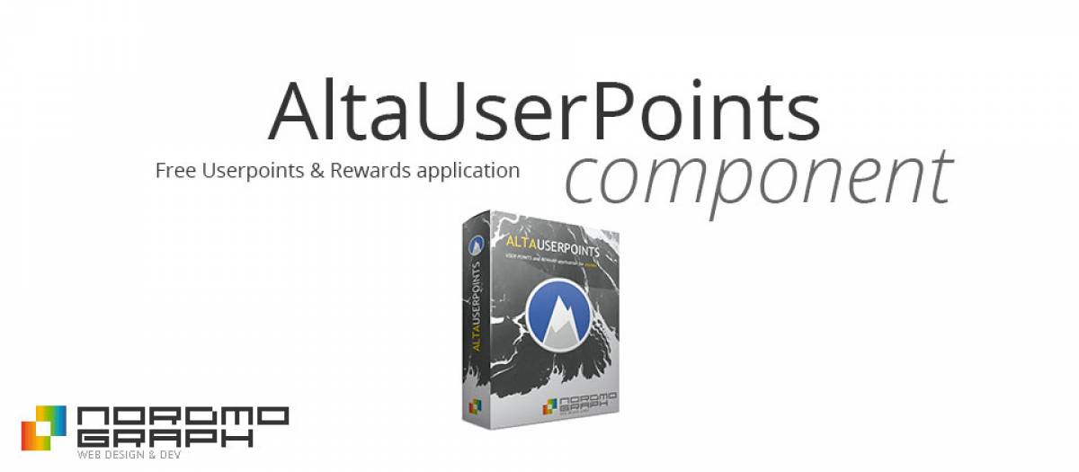AltaUserPoints, by Nordmograph - Joomla Extension Directory