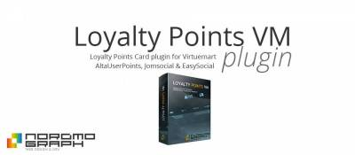Loyalty Points Card for Virtuemart