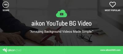aikon YouTube Background Video