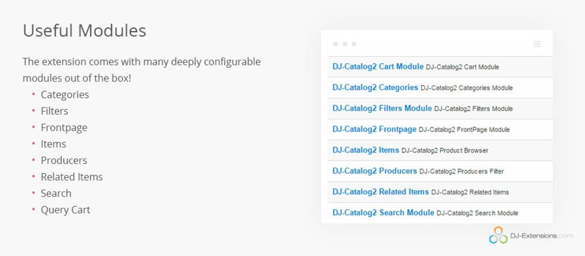 DJ-Catalog 2, by DJ-Extensions - Joomla Extension Directory