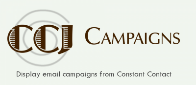 CCJ Campaigns for Constant Contact