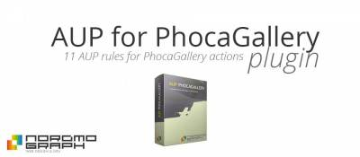 AUP points rules for PhocaGallery