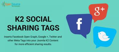 Social Sharing Tags for K2