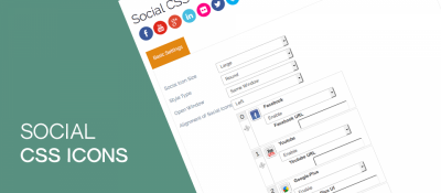 Social CSS Icons