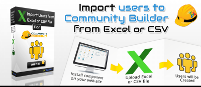 Import users to Community Builder from Excel or CSV file