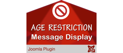 Age Restriction Message Display