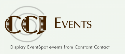 CCJ Events for Constant Contact