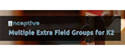 Inceptive Multiple Extra Field Groups for K2