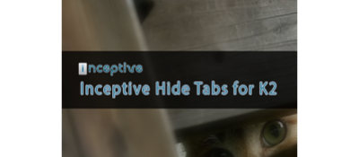 Inceptive Hide Tabs for K2