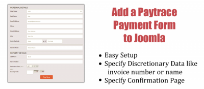 PayTrace Form