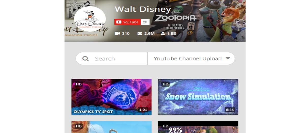 JO Responsive Video Gallery YouTube &