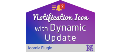 Notification Icon with Dynamic Update