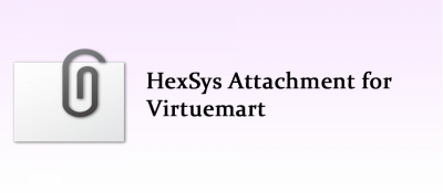 HexSys Attachment for Virtuemart