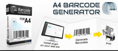 A4 Barcode Generator