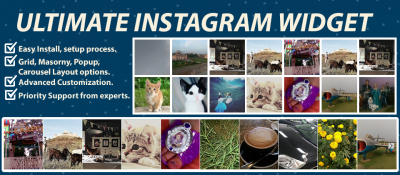 Ultimate Instagram Widget
