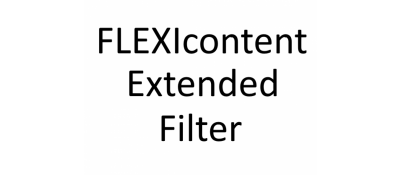 Extended Filter for Flexicontent