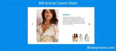 BM Articles Sweet Slider