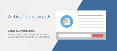 ActiveCampaign Convert Forms Addon