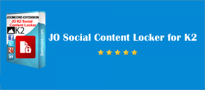 JO Social Content Locker for K2