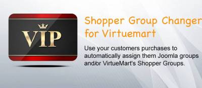 Shopper group changer for Virtuemart