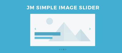 JM Simple Image Slider
