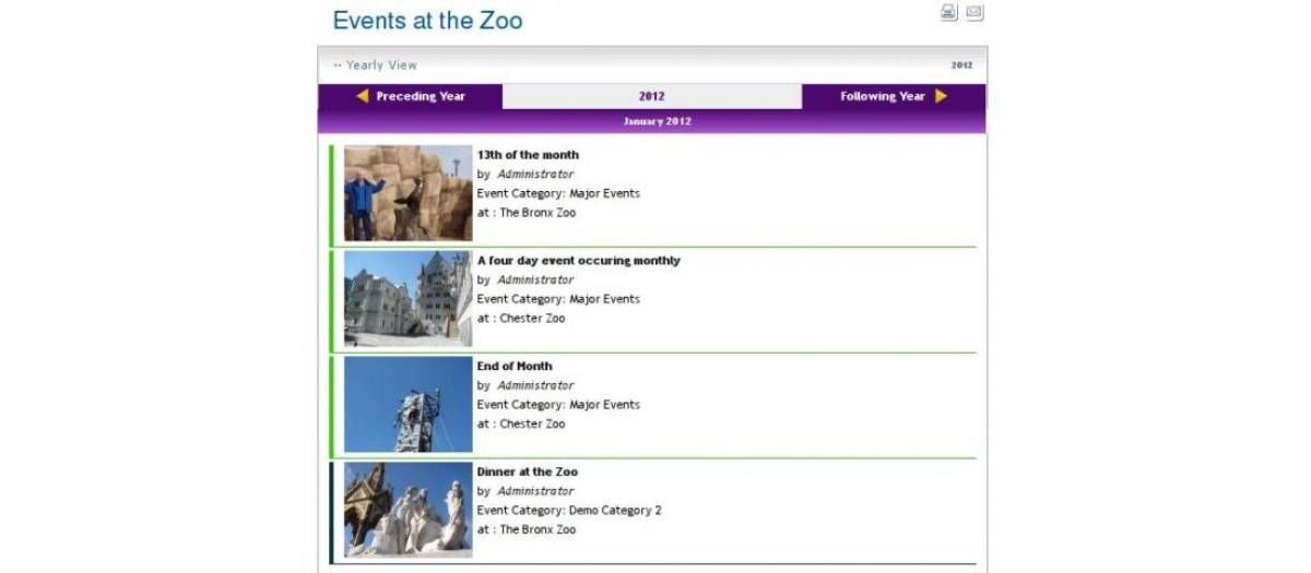 JEvents, by Geraint Edwards - Joomla Extension Directory