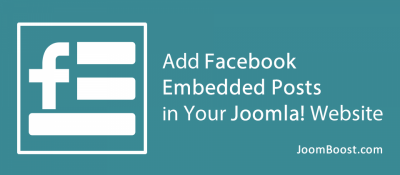 Easy Facebook Embedded Posts