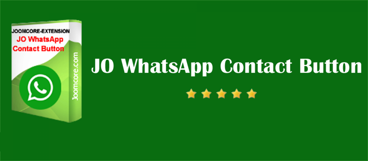Jo Whatsapp Contact Button By Joomcore Joomla Extension