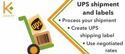 UPS Shipment and labels for VirtueMart