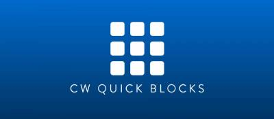 CW Quick Blocks