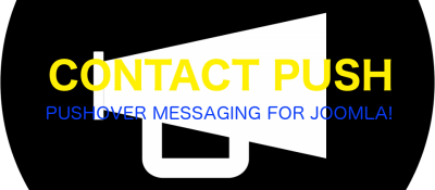 Contact Push: Pushover bulk messaging and notifications for Joomla