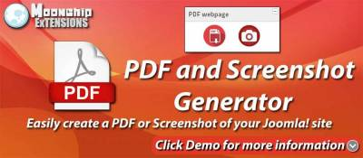 Moonchip PDF and Screenshot generator