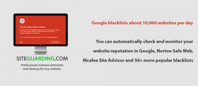 Website Blacklist Monitor