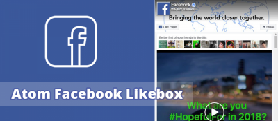 Atom Facebook Likebox