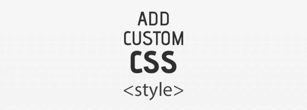 Add Custom Css By Impression Estudio Joomla Extension Directory