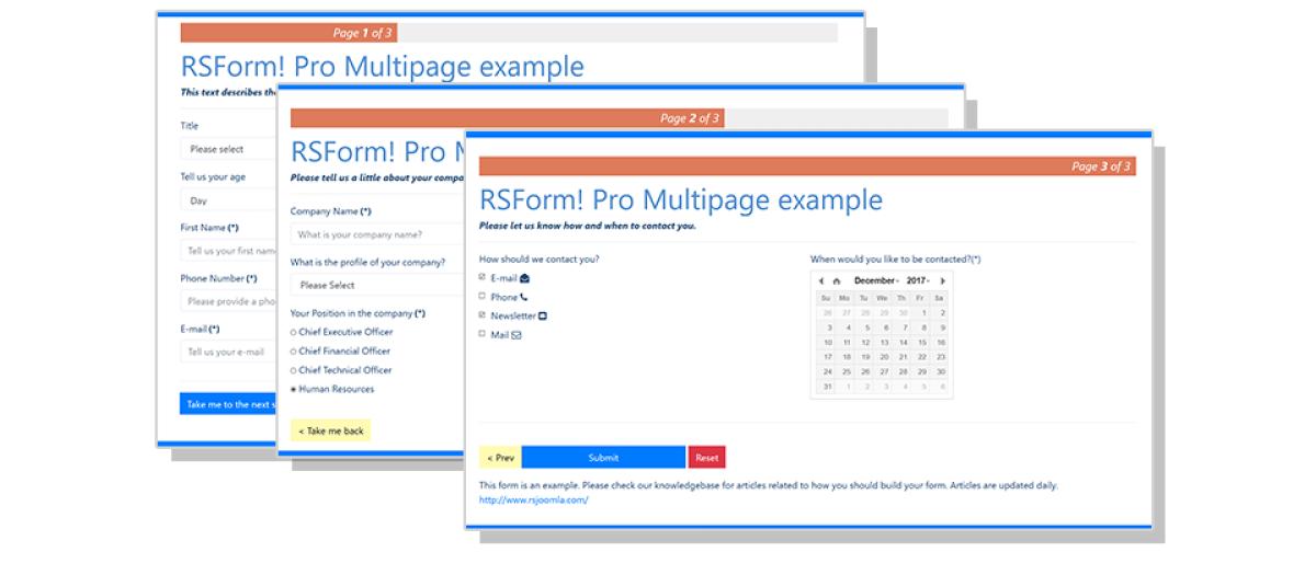 RSForm! Pro, by RSJoomla! - Joomla Extension Directory