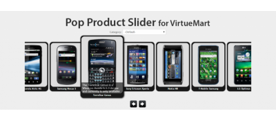 VirtueMart Pop Product Slider