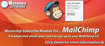 Moonchip Subscribe to Mailchimp