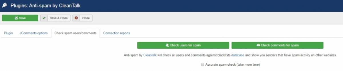 Antispam by CleanTalk, by CleanTalk - Joomla Extension Directory
